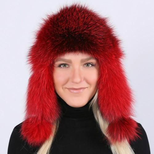 Шапка Зимушка цвет Красный
