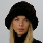 Шапка Шляпа Марго цвет коньяк