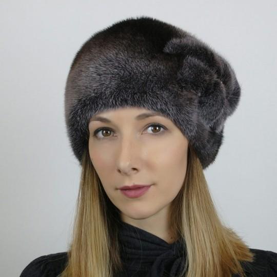 Норковая шапка Узор