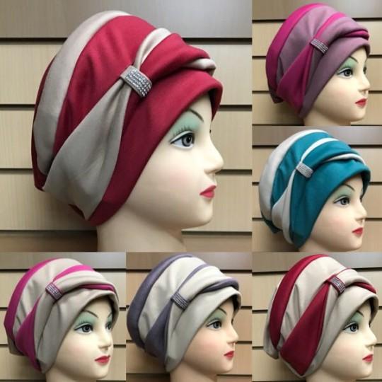 Женская шапка тюрбан