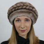 Шапка из мутона София арт. 1108