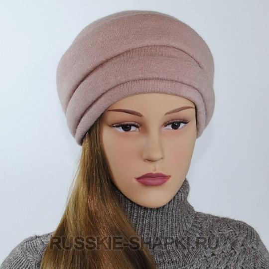 Женская шапка на весну